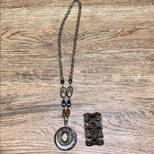 Ruby Rd. Jewelry - Necklace & Bracelet Set